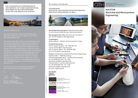 Info-Broschüre Master of Electrical and Microsystems Engineering