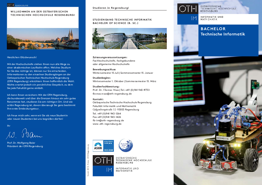 download Studiengangflyer Bachelor Technische Informatik