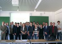 Gruppenfoto: International Workshop on Sensor Technology